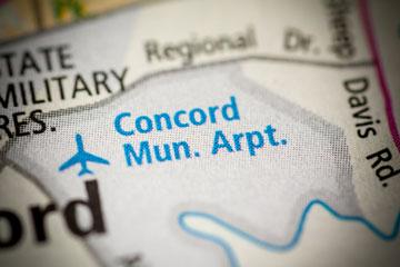 concord municipal airport